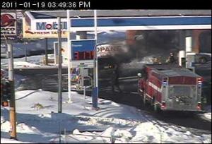 Vadnais Heights Vehicle Fire