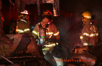 Richfield Garage Fire, Richfield firefighters, Minnesota firefighter