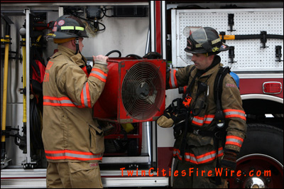 South Metro Fire Department, Minnesota Firefighter, South St. Paul House Fire