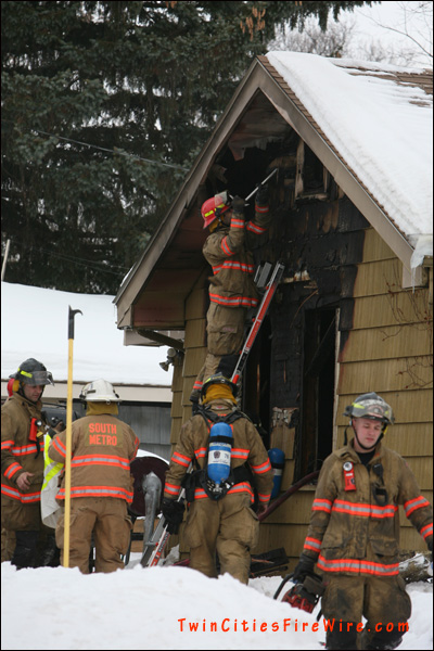 South Metro Fire Department, South St. Paul house fire, Minnesota firefighters