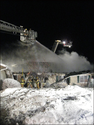 Minnesota firefighter, Savage townhouse fire, Savage firefighter