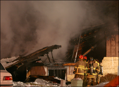 Woodbury House Fire, Woodury, Minnesota