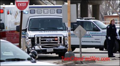 Allina Ambulance Accident, Ambulance Crash, Anoka-Champlin Fire, Minnesota