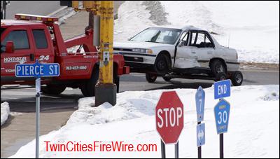 Anoka-Champlin Fire, Allina Ambulance Accident, Minnesota
