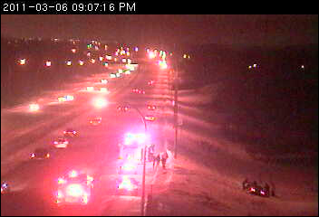 Coon Rapids Motor Vehicle Accident, Coon Rapids Fire, Snow
