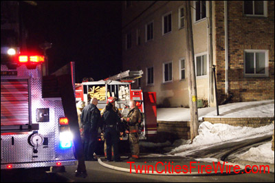 Columbia Heights Apartment Fire