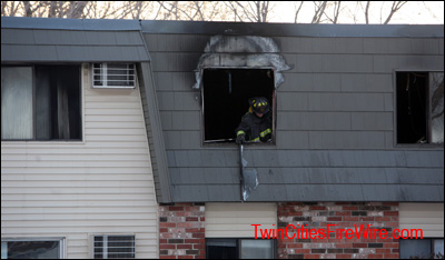 Brooklyn Park Firefighter, West Metro Fire, Osseo Fire, Apartment Fire, Child Playing wih Lighter