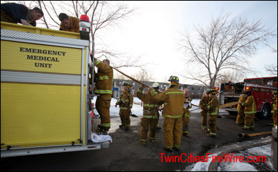 Brooklyn Park Firefighter, Minnesota, Osseo Fire, Apartment Fire, Child Playing wih Lighter