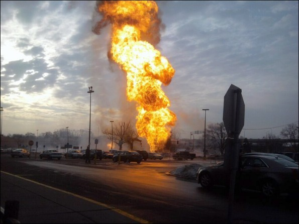 Minneapolis Gas Explosion, Minneapolis firefighters, South Minneapolis Fire