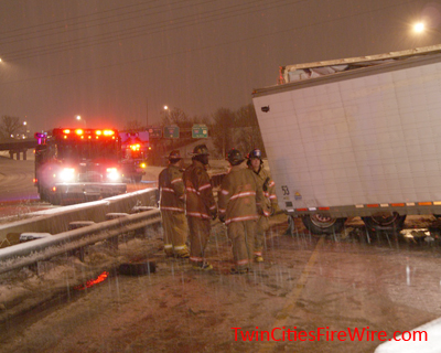 St. Paul firefighters, Interstate 94
