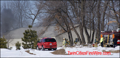 Blaine, Minnesota, SBM Fire, Barn Fire, Sunset Avenue, Blaine, Firefighters