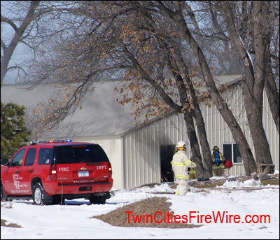 SBM Fire, Minnesota Firefighter, Barn Fire, Twin Cities Fire Wire