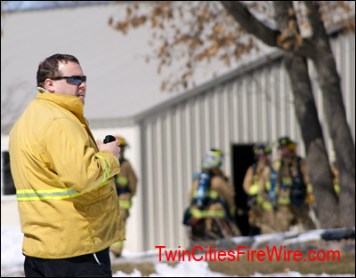 SBM Fire, Minnesota Firefighter, Blaine, Barn Fire, Twin Cities Fire Wire
