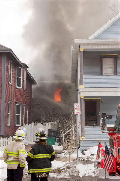 Minneapolis Fire, Firefighters, Twin Cities Fire Wire Photo