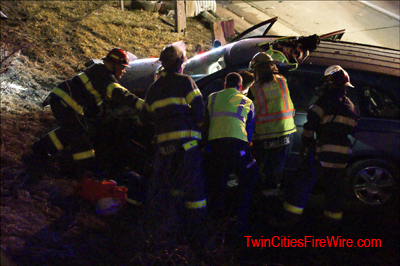 Minnesota State Patrol, Officer Struck, Minneapolis firefighters, Twin Cities Fire Wire