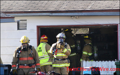 Centennial Fire District, Minnesota Firefighter, Garage, Fire Twin Cities Fire Wire