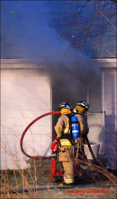 Spring Lake Park, House Fire, SBM Fire, Resident Injured, Twin Cities Fire Wire