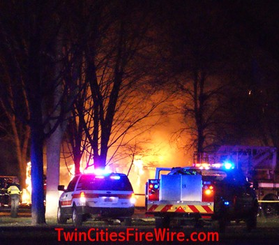 Brooklyn Park house fire, Brooklyn Park firefighter, mutual aid, Twin Cities Fire Wire