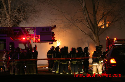 Brooklyn Park firefighter, Brooklyn Park house fire, Minnesota, Twin Cities Fire Wire house fire photos