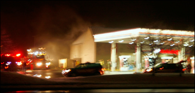 Eagan Fire Department, Minnesota, Firefighter, Holiday Gas Station Fire, Gas Fire