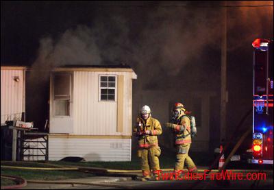 Fridley Manufactured Home Fire, Fridley Firefighter, Tetra KO, Twin Cities Fire Wire
