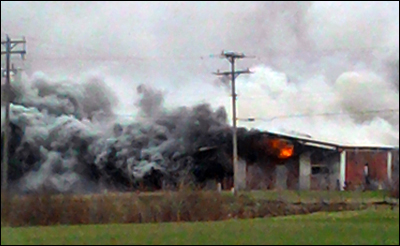 Hugo Warehouse Fire, Hugo Fire, Forest Lake Fire, Twin Cities Fire Wire
