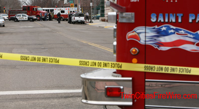 St. Paul Firefighters, Suspicious Package at Fire Station, Station 1, Twin Cities Fire Wire