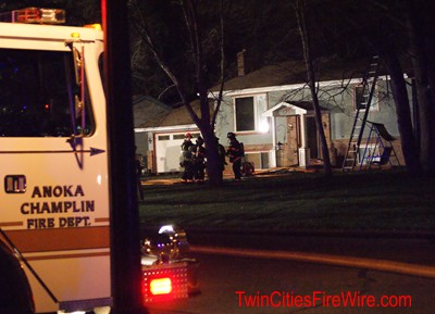 Anoka-Champlin Fire, House Fire, Minnesota Firefighter, Twin Cities Fire Wire