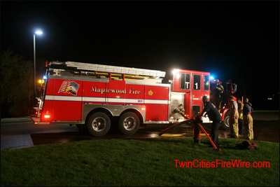 Lake Elmo House Fire, Highland Ct. N., Minnesota, Tanker Shuttle, Minesota Firefighter, Minneapolis, Twin Cities Fire Wire