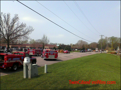 Fridley, Explosion, Fridley Firefighter, Minnesota