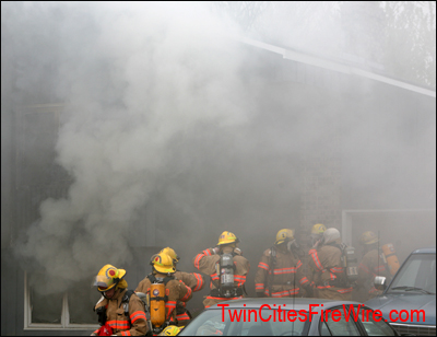 Cottage Grove firefighters, St. Paul Park Fire, Firefighter, House Fire, Minnesota, Twin Cities Fire Wire