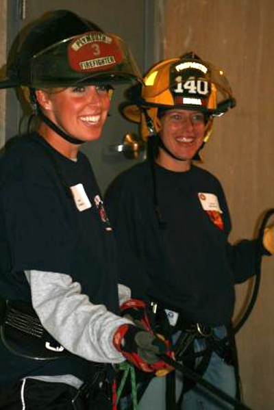 North Star Women's Firefighter Association, Eden Prairie, Female Firefighter