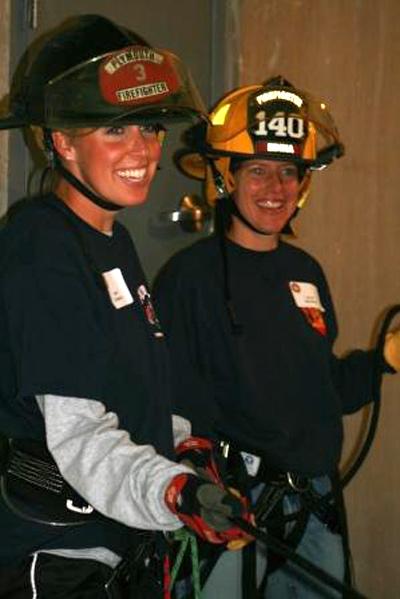 North Star Women's Firefighter Association, Eden Prairie, Female Firefighter