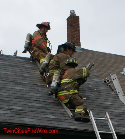 St. Paul Firefighter, House Fire, Frogtown, St. Paul Minnesota, House Fire, Twin Cities Fire Wire