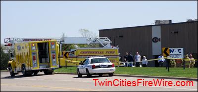 Hazardous Materials team, Lino Lakes, Centennail Fire, Minnesota, Jerry Streich, Twin Cities Fire Wire