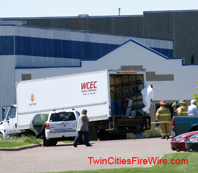 Hazardous Materials team, Lino Lakes, Centennial Fire, Minnesota, Jerry Streich, Twin Cities Fire Wire