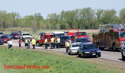 Twin Cities Fire Wire Photo