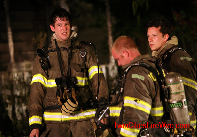 Oakdale Firefighter, Maplewood Fire, House Fire, Oakdale, MN, Minnesota, Twin Cities Fire Wire