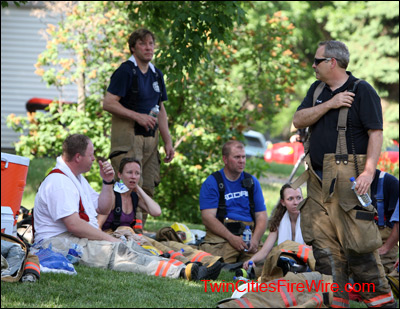Firefighter Rehab, Firefighter Safety, Minnesota Fire, Blaze, Twin Cities Fire Wire
