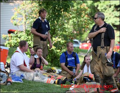 Firefighter Rehab, Firefighter Safety, Minnesota Fire, Blaze, Twin Cities Fire Wire
