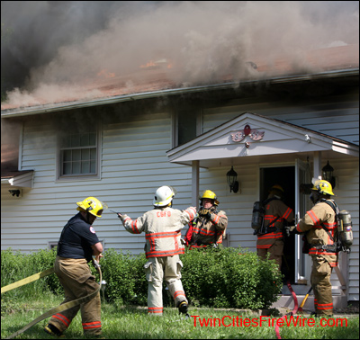Cottage Grove Minnesota, Cottage Grove Firefighter, House Fire, Minnesota, Blaze, Twin Cities Fire Wire