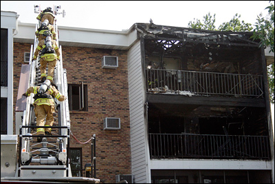 St. Louis Park, Minnesota, Firefighter, Condominium Fire, Apartment Fire, Minnetonka Fire, Minneapolis Fire, Firefighter, Five Alarm Fire, Twin Cities Fire Wire