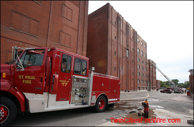 Stroh Brewery, St. Paul Minnesota, 707 Minnehaha Ave., St. Paul building, St. Paul Fire, Firefighter, Twin Cities Fire Wire